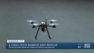 Arizona State University developing drone software for search and rescues