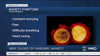 Helping anxiety during the pandemic