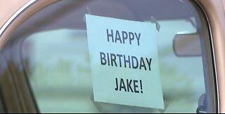 Vegas car enthusiasts help celebrate boy's birthday