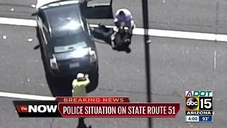 Reckless driver in custody after Phoenix pursuit