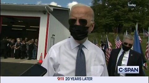 Biden rambles incoherently, talks about how bad his polling numbers dropped