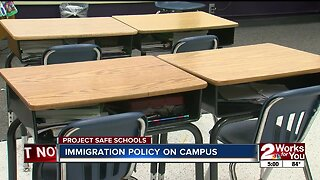 TPS on immigration policy on campus