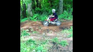 Funny Dirt Bike Crash