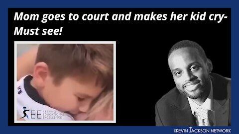 Mom goes to court and makes her kid cry- Must see
