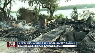 Family homeless after fire destroys home