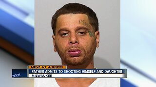 Father admits to shooting himself and daughter