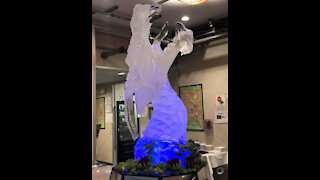 Dragon - Ice carving
