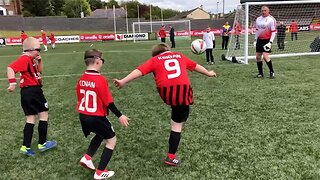 Incredible Footage Shows Boy With Down-syndrome Scores Amazing Lob Goals