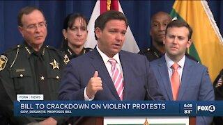 Bill to crackdown on violent protests