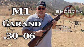 """M1 GARAND 30-06 RIFLE """"The Greatest Battle Implement Ever Devised"""" - SH007ER Reviews"""