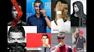 Ronaldo Reject The Coca Cola For WATER!