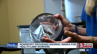 Nonprofit providing snorkel masks for health care workers