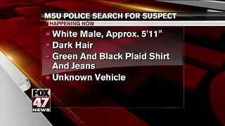 MSU police search for sexual assault suspect