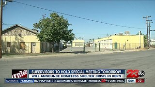 Kern County Board of Supervisors propose low barrier homeless shelter