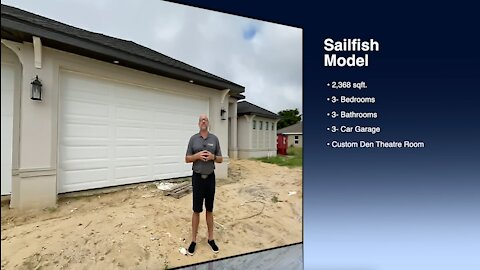 Sailfish Model with Custom Home Theatre Cape Coral, Florida