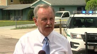 Palm Beach County Sheriff Ric Bradshaw discusses deputy-involved shooting in Riviera Beach