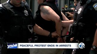Peaceful Downtown Buffalo protests ends in arrests