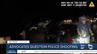 Advocates question San Diego Police shooting