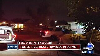Denver police: Woman killed near MLK and Dexter, suspect in custody