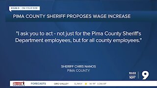 Pima County Sheriff Chris Nanos proposes wage increase for county employees