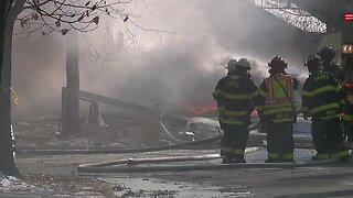Parma Heights firefighters respond to house explosion