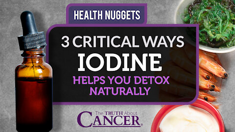 The Truth About Cancer Presents: Health Nuggets - 3 Critical Ways Iodine Helps You Detox Naturally
