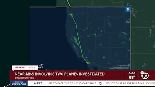 Near-miss involving two planes at San Diego airport investigated