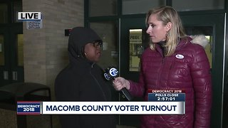 Macomb County turnout