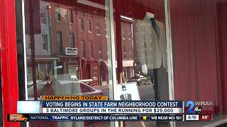 3 Baltimore non-profits in the running for a $25,000 grant