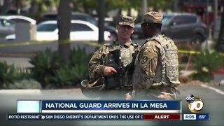 National Guard arrives in La Mesa
