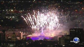 Full video: Denver's fireworks display at Civic Center Park