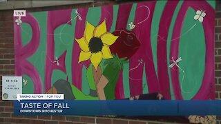 Magical Mural at Taste of Fall