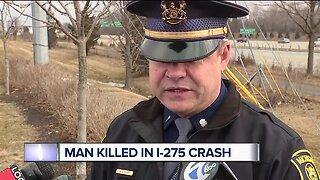 Man killed in I-275 crash in Oakland County
