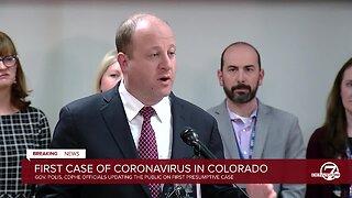 Two presumptive positive Coronavirus cases reported in Colorado