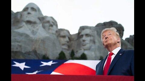 President Trump participates in 2020 Mount Rushmore Fireworks Celebration