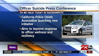California Police Chiefs Association launching anti-suicide initiative