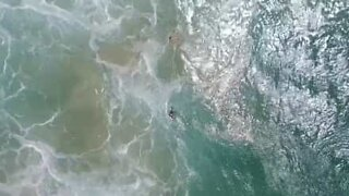 Drone saves Australian teens from drowning