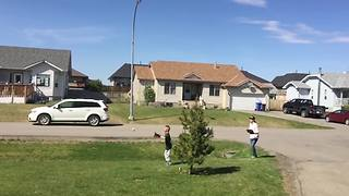 Young Boy's Hilarious Baseball Fail In Slow Motion