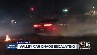Valley car chaos escalating