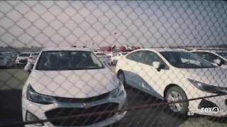 Car prices on the rise