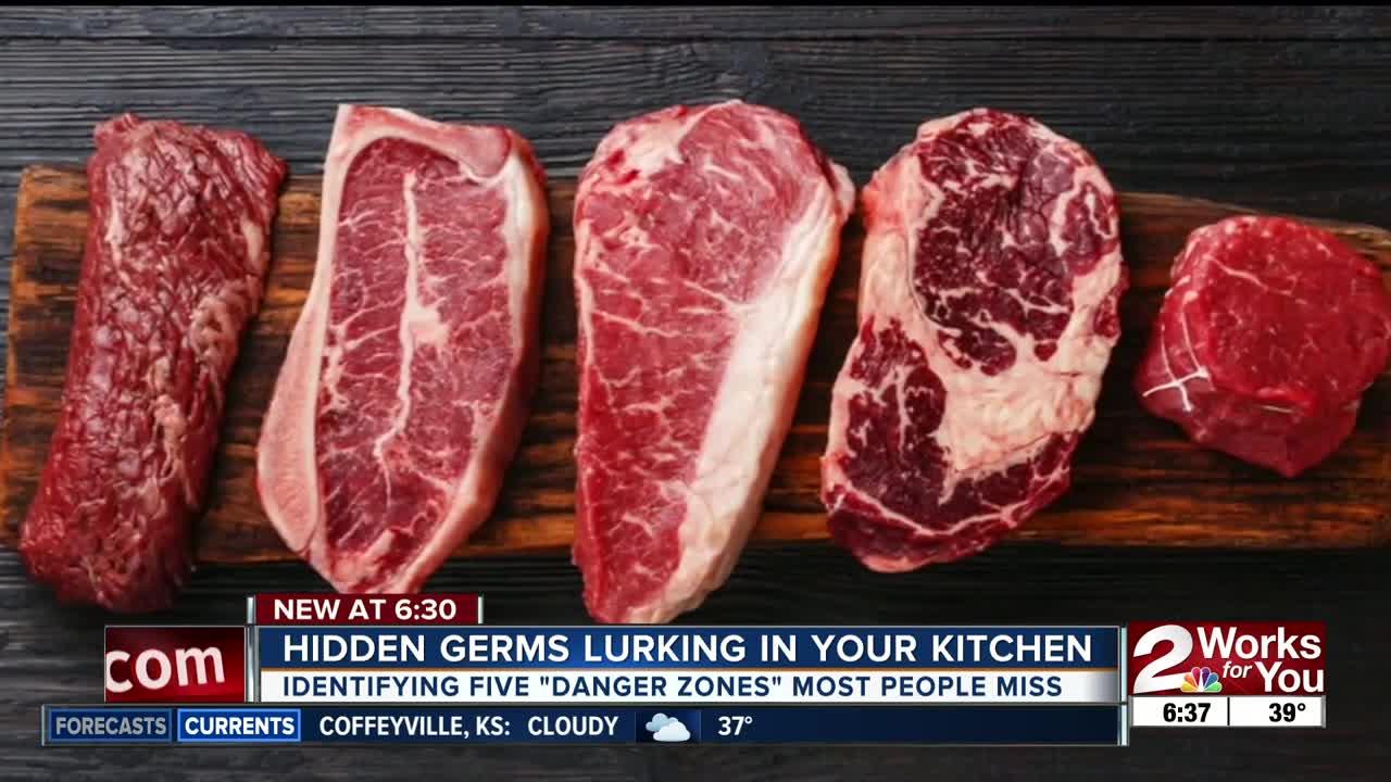 Hidden germs lurking in your kitchen