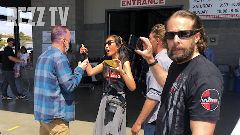 Free Breathers CLASH With Mask Extremists Outside Costco Torrance, CA