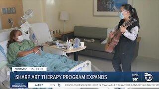 Sharp expands art therapy program during coronavirus pandemic