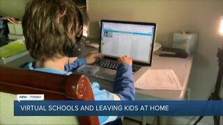 What are the laws about leaving your children home alone?