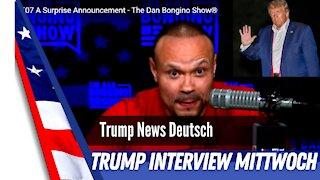 Dan Bongino interviews Donald Trump.