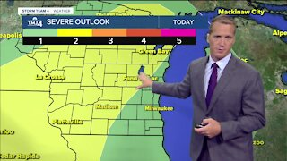 Rainfall expected heading into the weekend