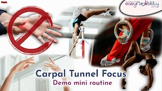 carpal tunnel, demo mini routine