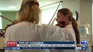 Symphony to do pop-up concerts at dialysis centers
