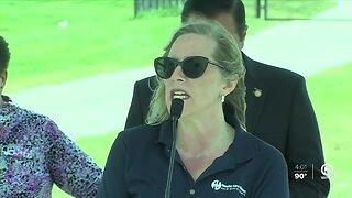 Coronavirus testing site opens at FITTEAM Ballpark of the Palm Beaches