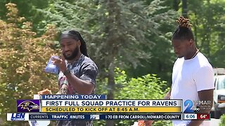 Ravens report for training camp